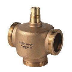 Резьбовые трехходовые регулирующие клапаны Siemens VXG44.32-16