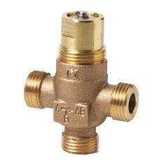Трехходовой клапан, трехходовой регулирующий клапан, VXP45.10-0.63 Трехходовой клапан купить, купить клапан в Минске, клапан резьбовой, клапан Сименс, клапан Siemens, клапан седельный