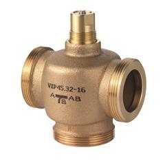 Резьбовые трехходовые регулирующие клапаны Siemens VXP45.15-2.5