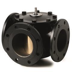 Фланцевые поворотные регулирующие клапаны Siemens VBF21.100