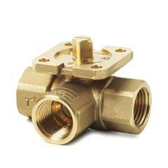 Резьбовые трехходовые регулирующие клапаны Siemens VBI61.15-4