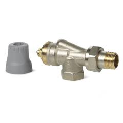Реверсивный угловой радиаторный клапан Siemens VUN215