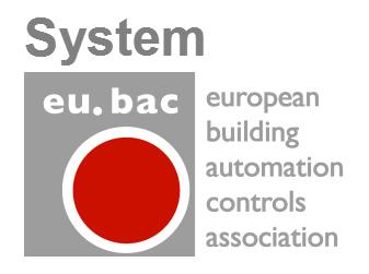 Европейская ассоциация систем автоматизации зданий eu.bac